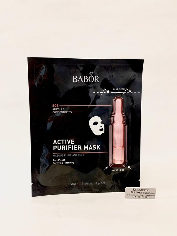 Babor SOS Ampulle Active Purifier Mask