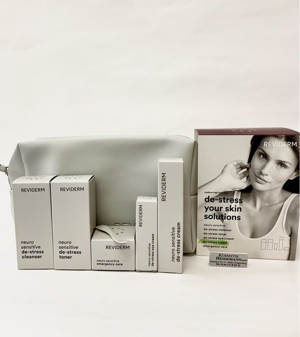 Reviderm Neuro Sensitiv De-Stress Your Skin Solution Low Lipid Set