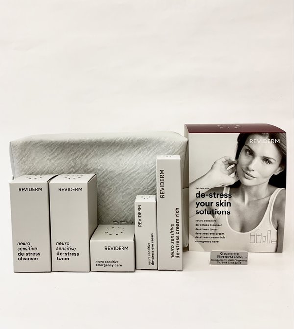 Reviderm Neuro Sensitiv De-Stress Your Skin Solution  High Lipid Set