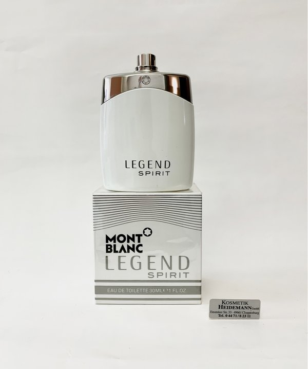 Mont Blanc Legend Spirit Eau de Toilette 30 ML