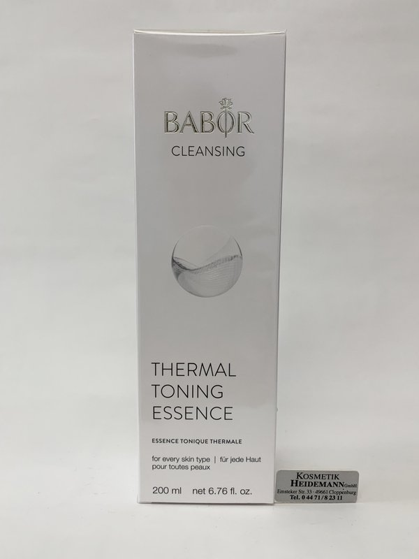 Babor Cleansing Thermal Toning Essence (200ml)