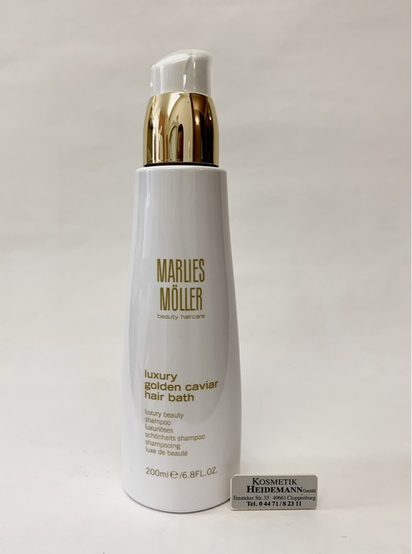 Marlies Möller Luxury Golden Carvier Hair Bath (200ml)