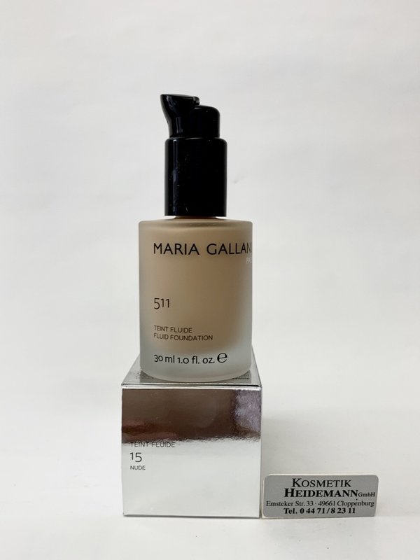Maria Galland Teint Fluide Foundation Nr 15 Nude 30ml