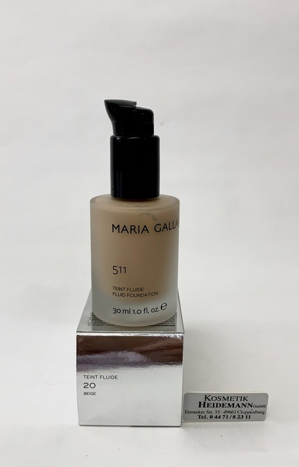 Maria Galland Teint Fluide Foundation Nr 20 Beige