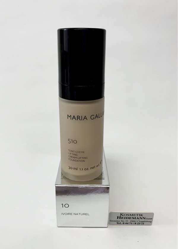 Maria Galland Teint Creme Lifting Foundation Nr 10 Ivoire Naturel 30ml