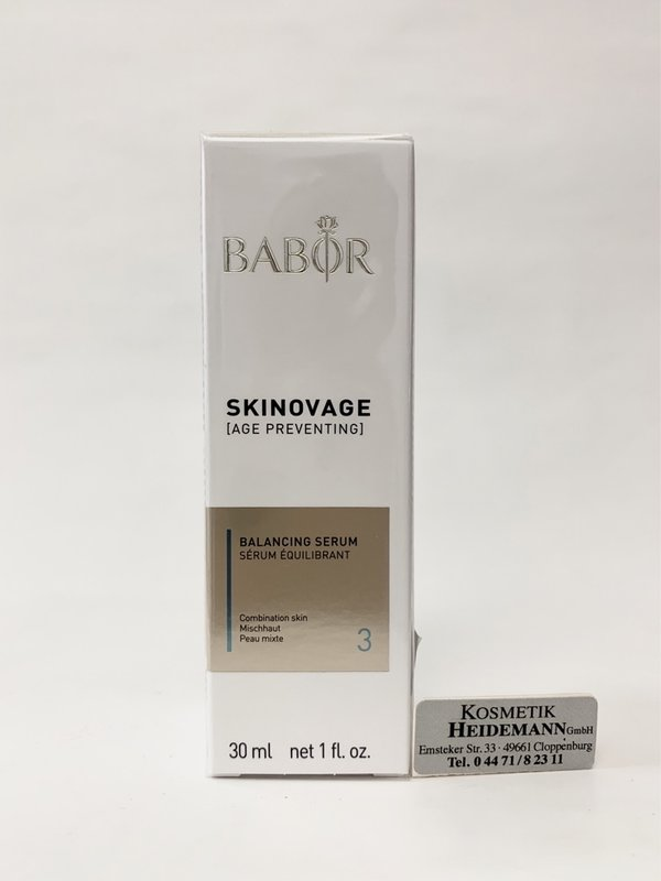 Babor Skinovage Balancing Serum (30ml )