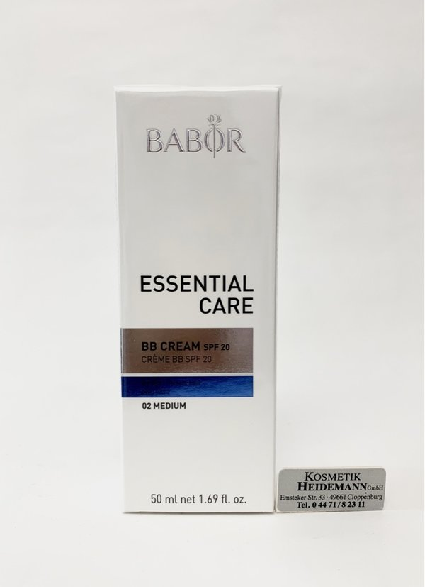 Babor Essential Care BB Cream 02 medium   (50ml)