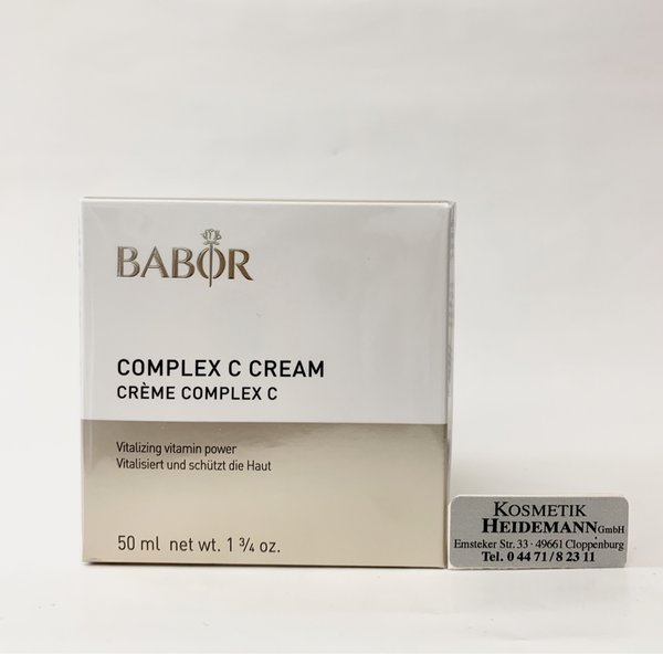 Babor Complex C Cream (50ml)