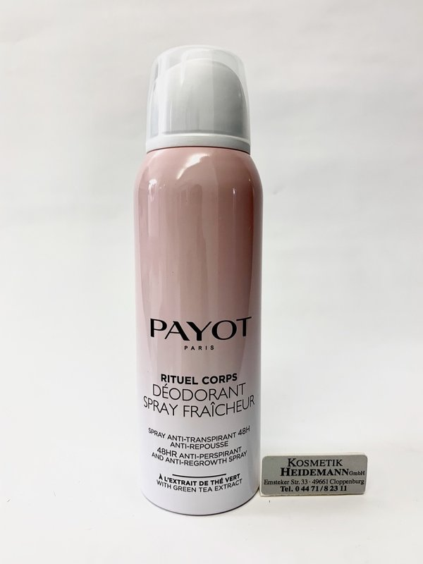 Payot Deodorant Spray Fraicheur (125ml)