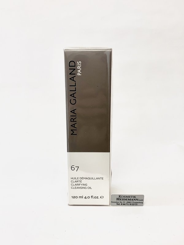 Maria Galland 67 - Huile Demaquillante Clartê 120ml