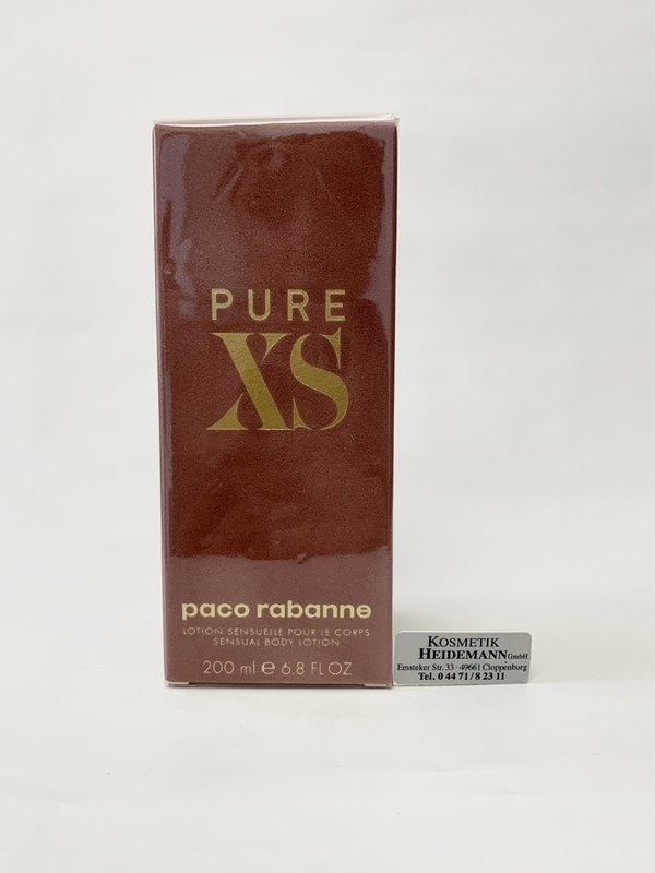 Paco Rabanne Pure XS Body Lotion for her(200ml)
