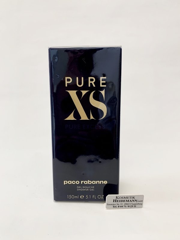Paco Rabanne Pure XS Shower Gel for him 150ml