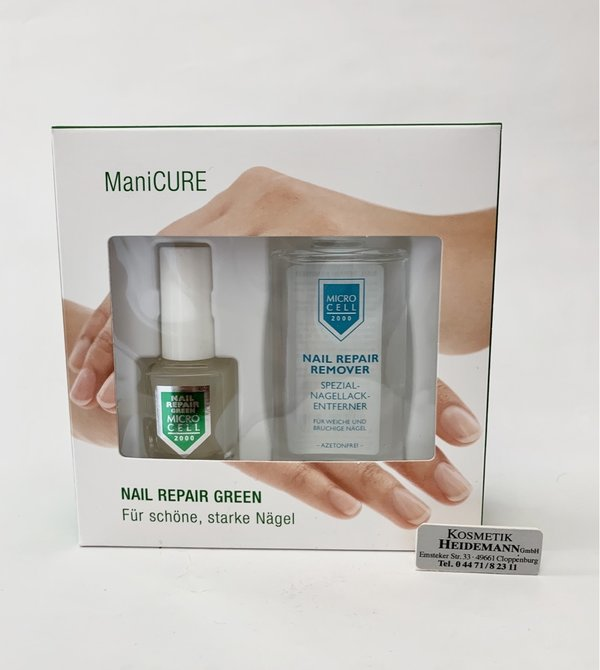 Micro Cell Nail Repair Green Kit