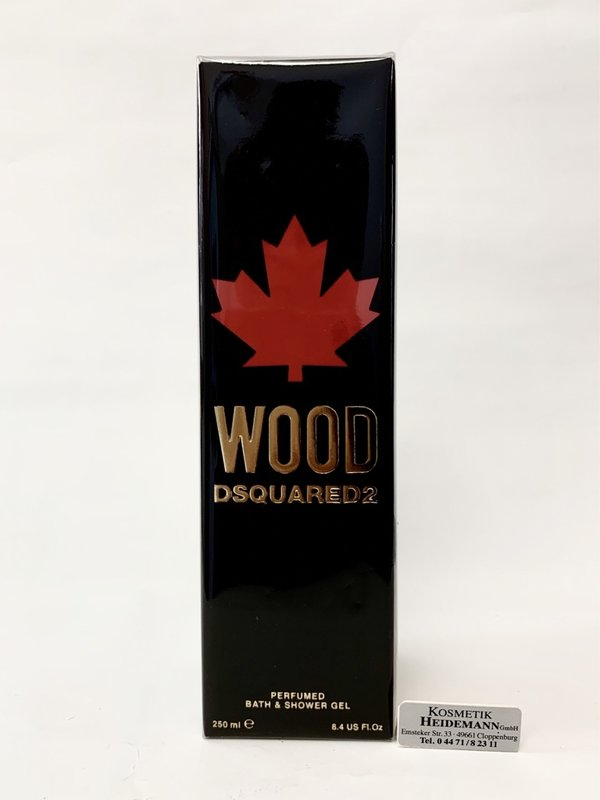 Dsquared 2 Wood Bath & Shower Gel  (250ml)