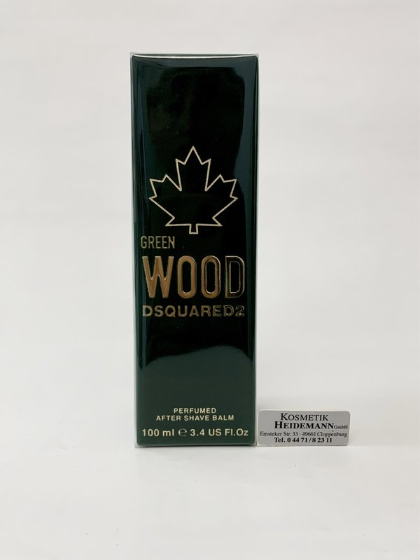 Dsquared 2 Green Wood After Shave Balm (100ml)