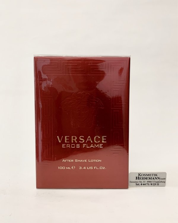 Versace Eros Flame After Shave Lotion (100ml)