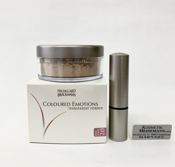 Hildegard Braukmann Transparent Powder