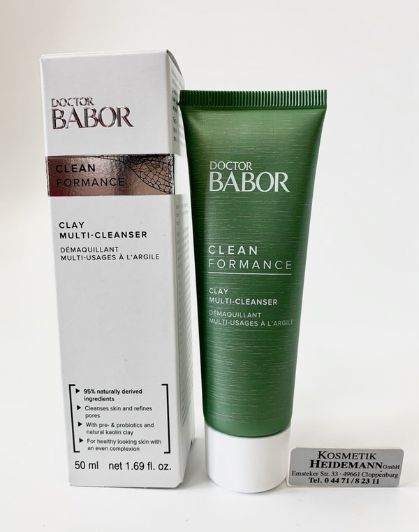 Doctor Babor CLEANFORMANCE Clay Multi Cleanser (50ml)